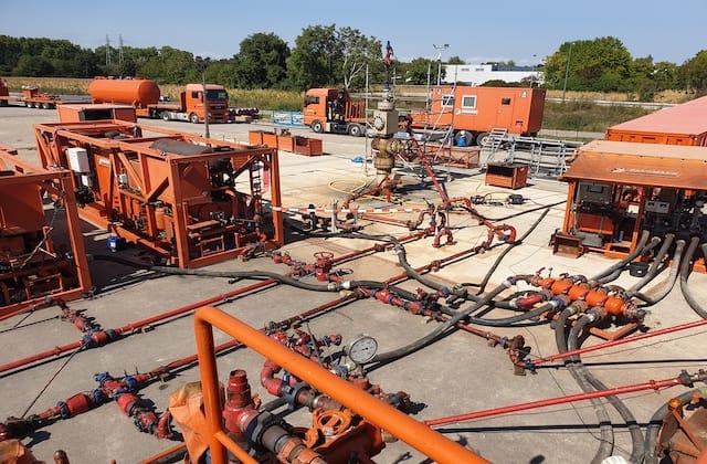 Hochgeschwindigkeit-Test-Industrial-Pumpen-Fangmann Energy Services